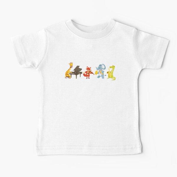 Animal band playing music Baby T-Shirt