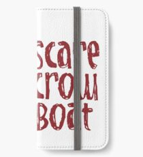 Scarecrow Boat iPhone Wallet/Case/Skin