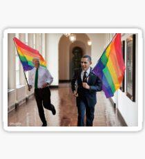 Gay Obama & Biden Sticker