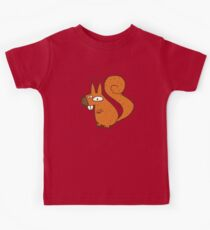 Cute cartoon squirrel Kids Clothes