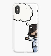 child with thought bubble iPhone Case/Skin