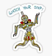 Smite - Watch your step (Chibi) Sticker