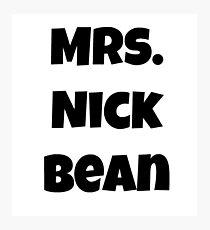 Mrs. Nick Bean Photographic Print