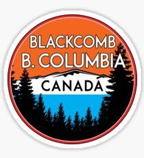 SKIING BLACKCOMB BRITISH COLUMBIA CANADA SKI SNOWBOARD MOUNTAINS 3 Sticker