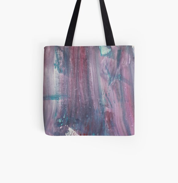 Watercolour Dusk All Over Print Tote Bag
