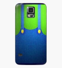 Funda/vinilo para Samsung Galaxy Traje Luigi