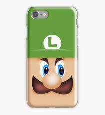 Luigi Death Stare iPhone Case/Skin