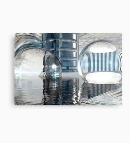 Heavenly Architectures // Anywhere But Here Metal Print