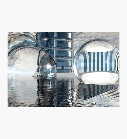 Heavenly Architectures // Anywhere But Here Photographic Print