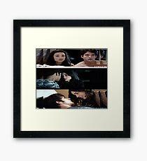Scallison [Cuddling] Framed Print