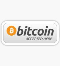 Bitcoin akzeptiert hier Sticker