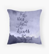 a court of mist and fury Throw Pillow