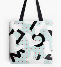spots vs lines Tote Bag