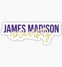 JMU - Style 13 Sticker
