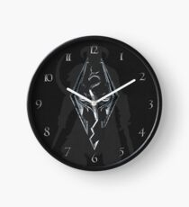 Skyrim Leather Clock