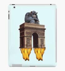 monkey - spaceship iPad Case/Skin