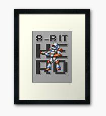 Turrican - 8-Bit Hero Framed Print