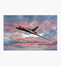 Avro Vulcan at Dawn Photographic Print