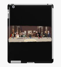 The last supper of the Doctor iPad Case/Skin