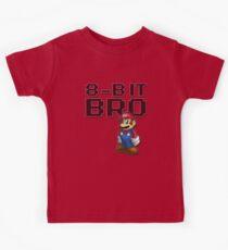 Mario - 8-Bit Bro Kids Tee
