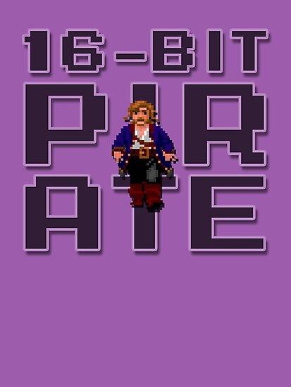 Guybrush - 16-Bit Pirate by CheatCode