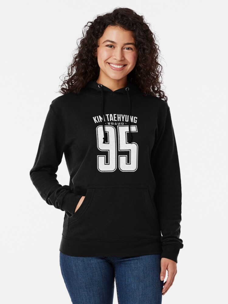 BTS Sweatshirt BTS 95 V Kim Tae Hyung Same Style Idol Hoody Top BTS Jumper Hooded Sweatshirt for Army