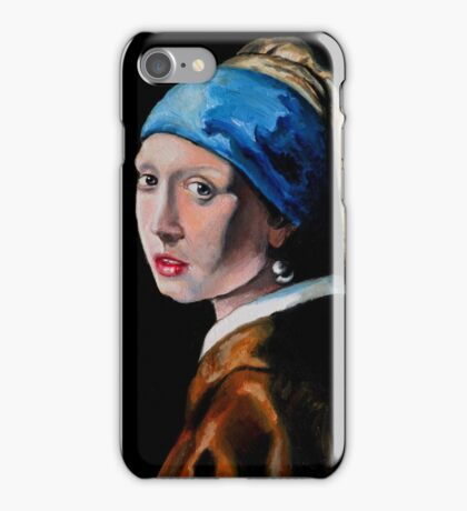 Girl with the Pearl Earring iPhone Case/Skin
