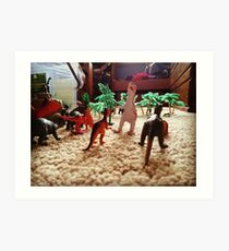 Dinosaur World Art Print