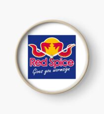 Red Spice Clock