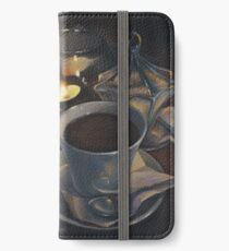 Still life with coffee iPhone Wallet/Case/Skin