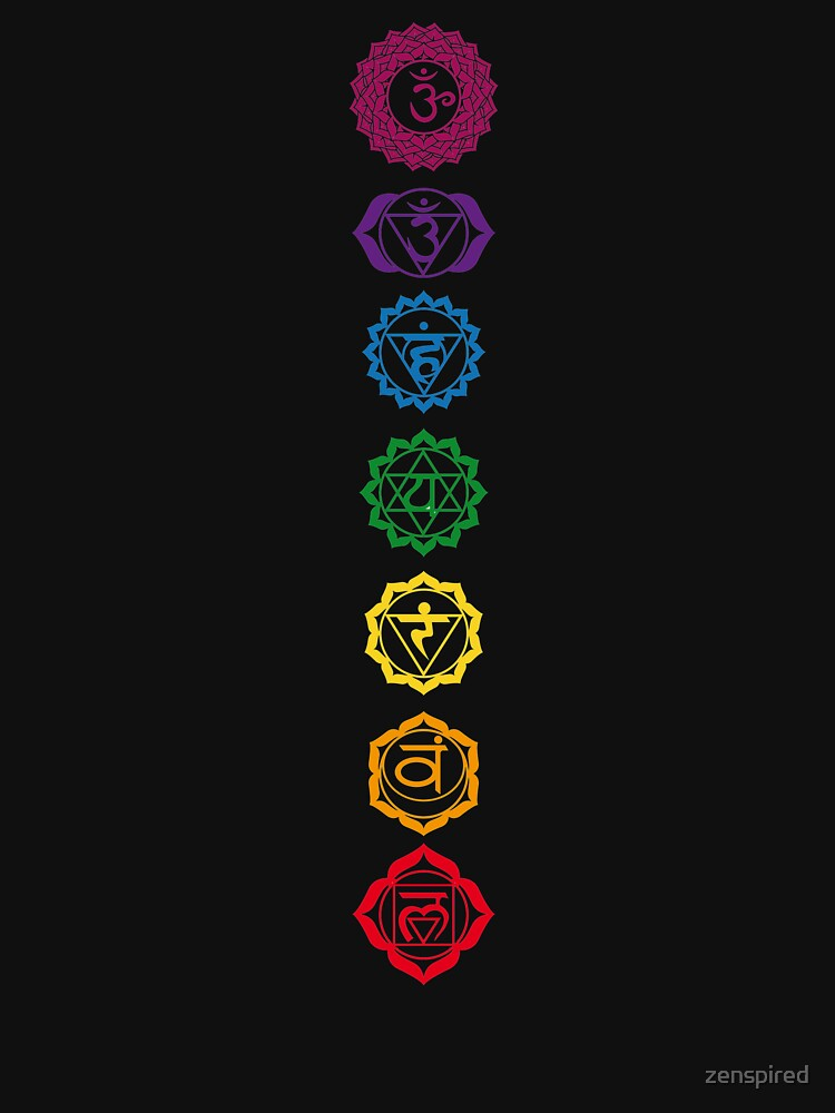 7 Balanced Chakras by zenspired