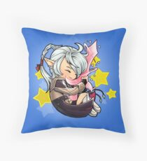 Sleeping Alisaie Throw Pillow