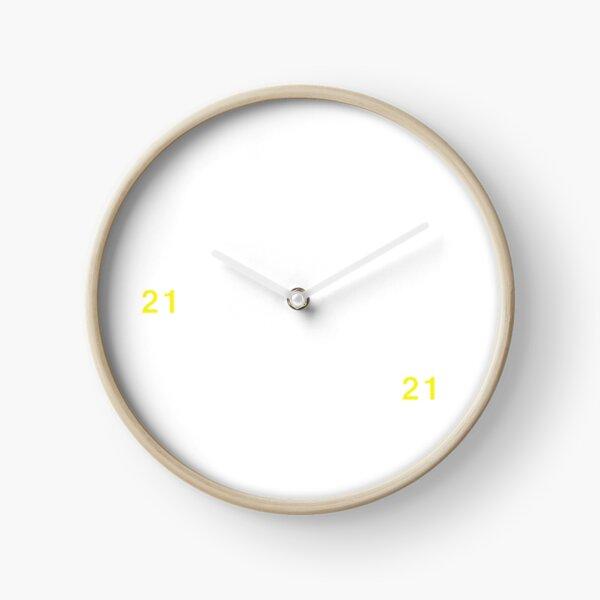 21:21 Clock