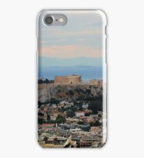 The Parthenon Overlooks The City iPhone Case/Skin