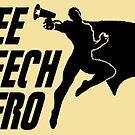 FREE SPEECH HERO by BrokenBritain