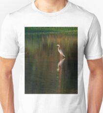 Blue Heron at Sunset T-Shirt