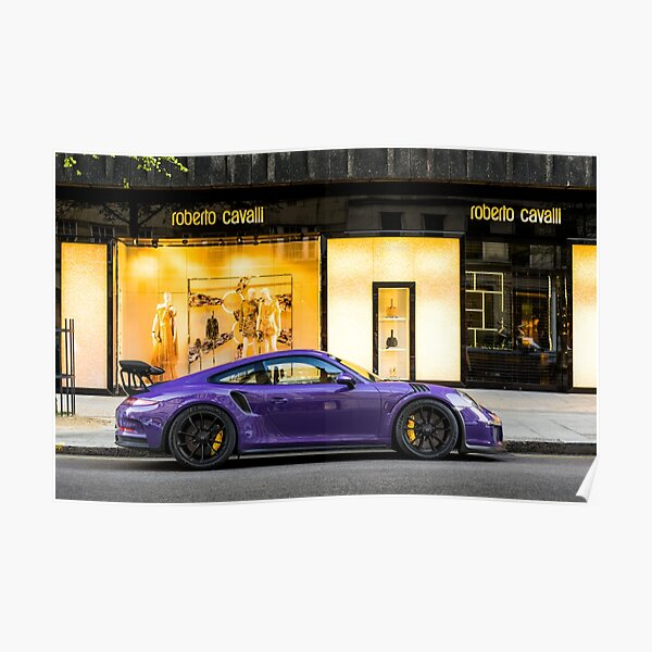 Purple 991 GT3RS  Poster
