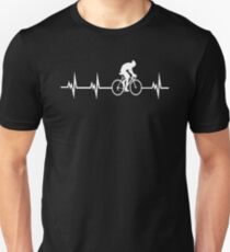 Cycling in a heartbeat  Slim Fit T-Shirt
