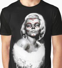 Marilyn Muerte Grafik T-Shirt