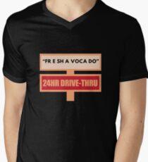 Free Fre Shavacado Fresh Avocado Men's V-Neck T-Shirt