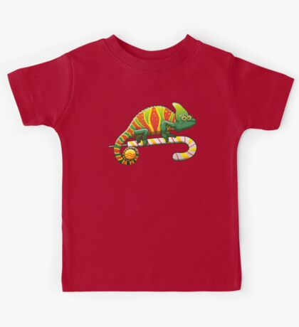 Christmas Chameleon Kids Clothes