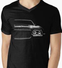 1972 ford gran torino, black shirt Mens V-Neck T-Shirt