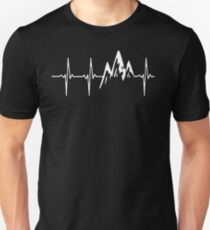 MOUNTAIN IN MY HEARTBEAT T SHIRT  Unisex T-Shirt