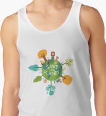 Save the Planet Tank Top