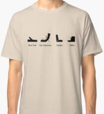 Synth Cities Classic T-Shirt