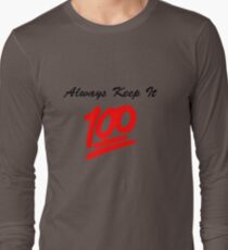 Keep it 100 Emoji Shirt T-Shirt