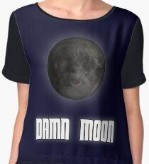 Damn moon Women's Chiffon Top