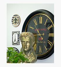 The Late Elvis Bust Photographic Print