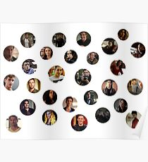Teen Wolf Cast Bubbles Poster Poster