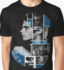 Dylan O'Brien Squares Graphic T-Shirt